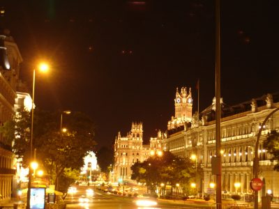 Alcalá- Cibeles Noche