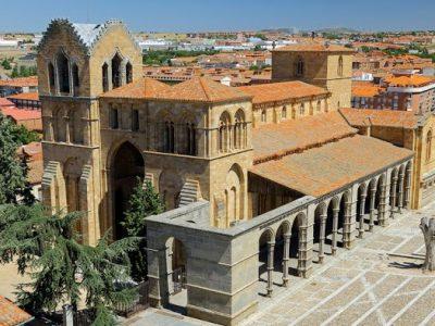 Avila- Basílica de San-Vicente