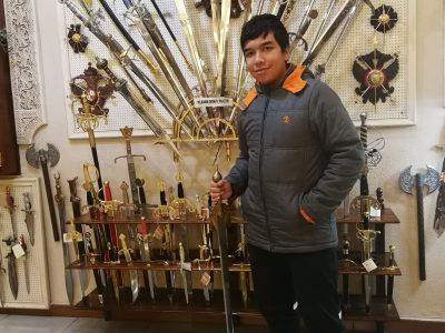 Cliente espadas Toledo
