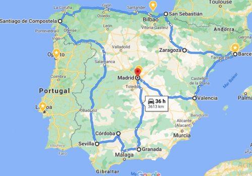 Mapa Circuito Eapaña Total
