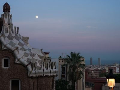 Park Guell noche