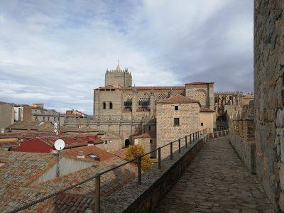 Ávila Muralla- Catedral